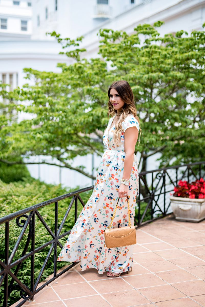 the skinny on blogging blogger series how to blog series learn how to blog documenting and reporting your roi as a blogger understanding google analytics understanding instagram analytics white maxi dress tularosa white maxi dress chanel purse dupe summer maxi dresses floral maxi dress