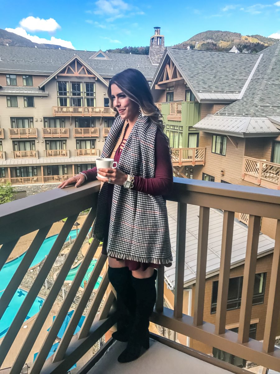 stowe mountain lodge resort review where to stay in vermont where to stay in stowe best hotels in stowe vermont best places to take a fall vacation new england vacation stowe mountain lodge trip review fall foliage trip fall trip to vermont where to travel in the fall