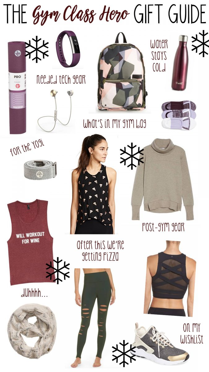 gift guide for the gym class hero athletic wear gift guide athleisure gift guide what to wear to the gym gift ideas for the gym what to give someone who likes to workout cute athleisure wear fun athletic gear