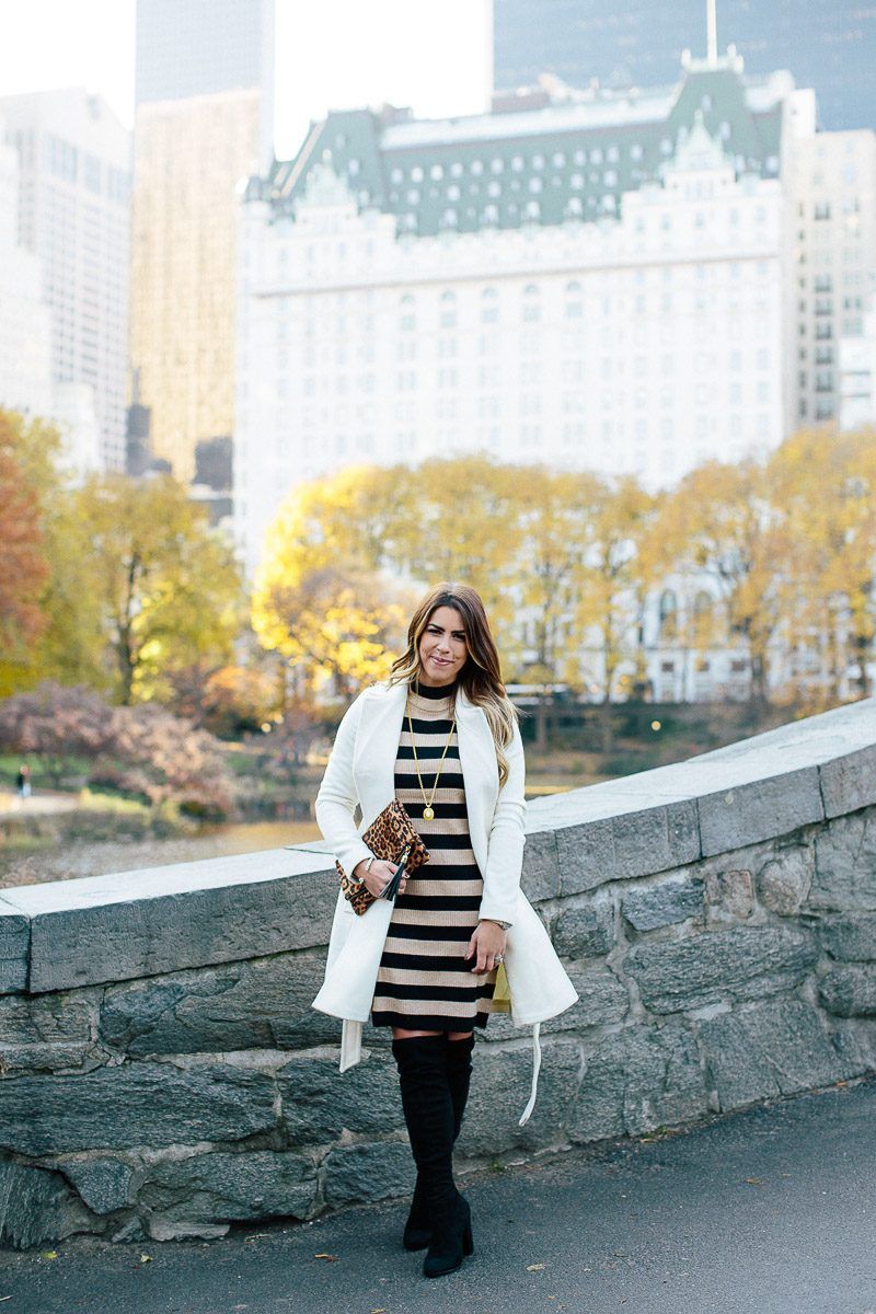 e73060cd701 ... central park jcrew striped dress black and camel striped dress olivia  pope jacket white peacoat black ...