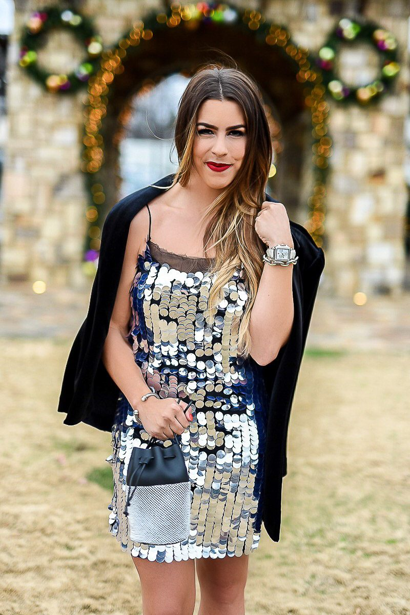 what to wear on new years eve new years eve dress the best new years eve dress sequin new years eve dresses new years outfit inspiration fashion blogger new years eve posts topshop sequin dress black velvet blazer silver dress sequin silver dress