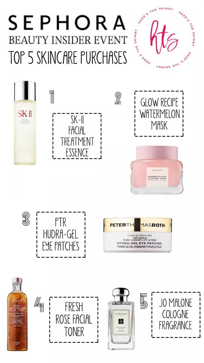 sephora beauty insider event top 5 purchases in makeup top 5 purchases in beauty top 5 purchases in skincare top 5 purchases in haircare what to purchase in the sephora spring sale the best purchases from the sephora sale