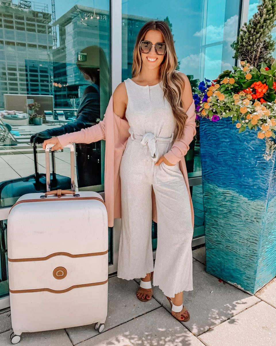 Nordstrom anniversary sale 2019 bp jumpsuit outfit